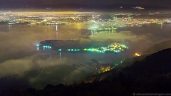 Timelapse: Night at the Lake of Ioannina (excerpt) (Alexandros Maragos) Tags: nature landscape timelapse greece ioannina lakepamvotida lakeioannina alexandrosmaragos