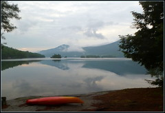 Dawn of another great day (edenseekr) Tags: dawn reflections lakegeorgeny adirondackmountains kayak campsite