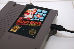 8-Bit NES Hard drives (irecyclart) Tags: harddrive nes