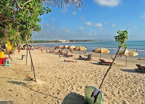 Lesser Sunda Islands. Part of Indonesia. Bali, Kuta beach.