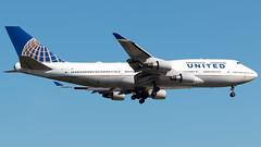N122UA (equief) Tags: frankfurt united boeing ual 747 fra jumbo 747400 eddf 747422 frankfurtrheinmaininternationalfraeddf