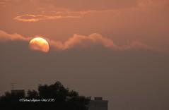 IMG_3698 - Sunset - Caen, Calvados (14) - BL - Mai 2016 (heuliez142011) Tags: sunset de outdoors soleil coucher ciel nuages normandy caen calvados14 heuliez142011