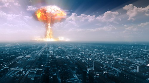 Nuclear Explosion, Chicago [1902x1080] - art0on, From FlickrPhotos