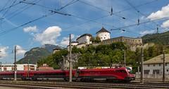 """0563__2016_05_18_sterreich_Kufstein_railjet_mit_1116_201_""""Spirit_of_Vienna""""_&_railjet_""""Spirit_of_Hungary""""_mit_1116_207 (ruhrpott.sprinter) Tags: railroad train germany u2 deutschland austria tirol sterreich diesel eisenbahn rail zug cargo 64 henry 186 nrw passenger es alpen lm fret gelsenkirchen ruhrgebiet f4 freight innsbruck bb locomotives 139 189 151 193 lokomotive kufstein feste 1016 sprinter ruhrpott gter 6193 1216 wrgl 6186 1116 dispo eloc 6139 6189 mrce reisezug rpool dispolok ellok railjet heizkabel logooutdoor hccrrs unterintalbahn"""