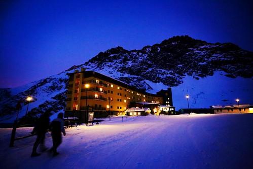 Mi último anochecer en @skiportillo ⛷ #canon6d #chile #ski