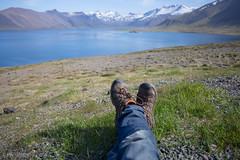 Traveling Boots - Snfellsnes Peninsula (virtualwayfarer) Tags: snfellsnes snaefellsnes snfellsnespeninsula peninsula borgarfjrur iceland visiticeland icelandic roadtrip sunnyskies ringroad highway1 ringroadone exploring lifestyle landscape travel traveling fjord fjords boot boots travelingboots travelingbootshot bootshot shoes spiritoftravel hiking walking relaxing relaxation series travelseries signatureshot mountains explore explorer walk tourism traveler canon canon6d alexberger virtualwayfarer travelphotography wayfaring wandering thewanderer solotravel independenttravel