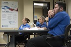 TSA screeners training (FreezeTimeDigital) Tags: training airport classroom employment photojournalism security tsa reportage lasvegasreviewjournal