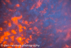Fireball (DanRWin [ista:danrwin]) Tags: lighting blue ohio sky orange storm abstract color art clouds photography experimental fineart fineartphotography canon60d