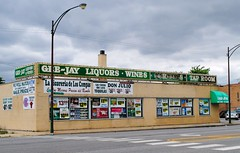 Gee Jay Liquors & Tap Room (Cragin Spring) Tags: city urban usa chicago building sign store illinois midwest unitedstates unitedstatesofamerica chitown il liquor taproom southside liquors liquorstore chicagoillinois chicagoil ashburn geejayliquors