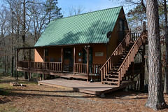 Mt. Moriah - The Old Factory Getaway (Drriss & Marrionn) Tags: wood camping trees usa building tree architecture cabin woods riverside outdoor arkansas woodenhouse mtmoriahar