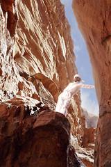 Wadi Rum Guide (kevinwenning) Tags: sky white smile desert wadirum canyon jordan guide wenning kevinwenning intentionallylostcom