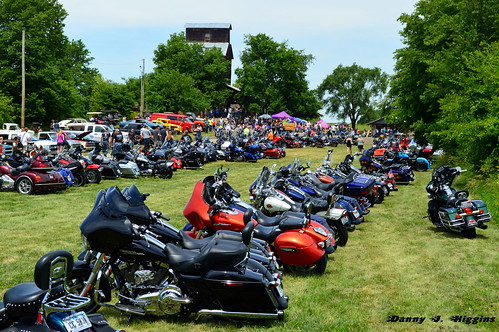 Car & Motorcycle Show & Swap Meet At The Psycho Silo Saloon In Langley, Illinois.    127