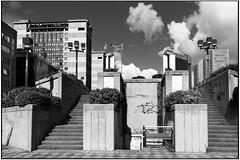 Napoli - Centro Direzionale (gennaromignolo) Tags: street blackandwhite bw italy italia campania napoli naples offices biancoenero uffici centrodirezionalenapoli directionalcenter directionalcenternaples