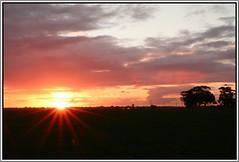 Sunset 28 June (florahaggis) Tags: sky lake water reflections dusk australia victoria greenlake horsham pc3400 wimmera canoneos70d cloudsstormssunsetssunrises
