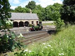 Classic British Countryside Railway (Terry Pinnegar Photography) Tags: trees green grass museum victorian railway steam beamish londonderry lewin countydurham 683 stephenlewin seahamharbourdockcompany