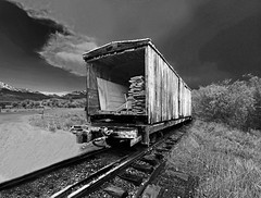 Old Boxcar (Rennett Stowe) Tags: train railraod oldboxcar traintracks lumber oldlumbercar oldwoodenboxold wooden boxcarboxcarstormtrain stormdilapidateddilapidated boxcarcreative commonscreative commons boxcarrail linecoloradocolorado oldtrain blackandwhiteboxcar monochromeboxcar blackandwhitetrain woodentrain trainlore 1000000railcars railcars oldrailcars oldrailcar old antique antiquetransportation commercial commercialtransportation vintagetrain vintageboxcar vintagerailcar nightmare baddream theendoftheline decay decaying worthless dead useless