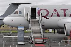 Airbus A319 Qatar Executive (A380spotter) Tags: airbus a319 100lr 100 a7cja  alhilal qatar  qatarairways qtr qr  qatarexecutive qqe qe staticdisplay fia16 sbacfarnboroughinternationalairshow2016 taglondonfarnboroughairport eglf fab