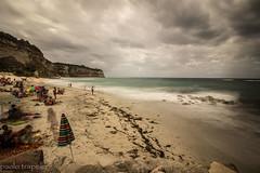 spiaggia di formicoli (vv) (paolotrapella) Tags: formicoli spiaggia beach sea mare acqua lunga esposizione long exposure canon 1018 italycolori cielo sky nuvole