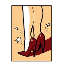 Guía de salud para mujeres. Tacones (elbuzonamarillo) Tags: guía salud mujeres ciudad real deprimida prostitución prostituta amiga animar sida transmisión contagio madre hijo bebé mosquito no planificación familiar embarazo embarazada aborto reflexionar policía documento ruido molestia tráfico señalar lectora llamar duda tacón dolor portada diputación castilla la mancha