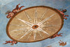 Particolare della Rosa dei Venti (Sprizzi al di là dello specchio) Tags: wind versailles palazzoducale bilancia soffitto tramontana libeccio reggiadicolorno rosadeiventi