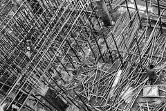 Pole Supports, Addis, Ethiopia (Rod Waddington) Tags: africa wood concrete workers construction african pole afrika poles ethiopia addisababa ethiopian etiopia