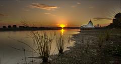 Lago de Taungthaman, Amarapura, Burma (bit ramone) Tags: lake lago burma myanmar mandalay amarapura taungthaman birmania bitramone pentaxk5