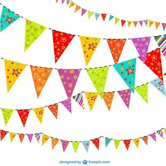 Party Background Vector Illustration Free Vectors (eugenejoe414) Tags: birthday new party wallpaper colors festival illustration festive fun happy layout design graphics triangle graphic image vibrant background flag magic year joy fair newyear flags garland celebration event entertainment invitation card elements backgrounds backdrop colored wallpapers template element triangular backdrops garlands birthdaybackground