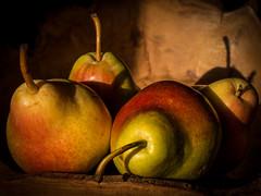 Pears in the Sun (peterob) Tags: nottingham uk england stilllife fruit lumix pears panasonic g5 nottinghamshire lg5 abigfave micro43