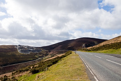Horseshoe Pass (Alastair Cummins) Tags: road holiday wales landscape scenery view pass scenic roadtrip welsh horseshoepass vwgolfgti nikond90 a542