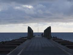 El Muelle del Burrero (Risager) Tags: sea sky clouds dark cloudy grancan elburrero