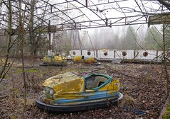 A modern-day Pompeii (langkawi) Tags: park abandoned car wheel dead amusement power nuclear ferris bumper disaster rides riesenrad catastrophy chernobyl contaminated rummel tschernobyl autoscooter pripyat chornobyl supergau pripjat  worstevernuclearaccident