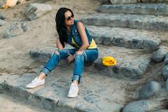 Daria 003 (Svetlana Kniazeva) Tags: park sunset portrait beach canon model dubai style photosession lifestylephotography 50mmf12l dubaiphotographer svetlanakniazeva photosessionindubai