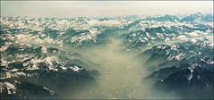 Bird's view of Swiss Alps in March (Katarina 2353) Tags: desktop travel wallpaper vacation panorama mountain snow alps film landscape photography switzerland photo spring nikon image outdoor swiss aerialview katarinastefanovic katarina2353 rocherdenaya