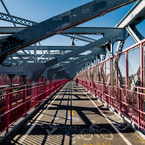 bike path | williamsburg bridge [4/4] | new york city, september 2014 | #LumixGX7