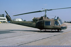 "64-14154 ""Blue Max"" - UH-1M Iroquois - US Army / 335 Assault Helicopter Company Army Reserve - Los Alamitos - 24-Oct-78 (THE Graf Zeppelin) Tags: bell huey nationalguard helicopters iroquois losalamitos arres uh1m 335ahco 6414154 19781024"