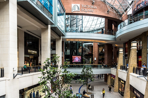 Victoria Square Shopping Centre In Belfast REF-102891