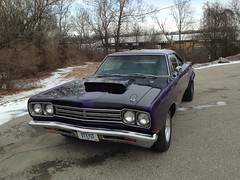 """1969 Plymouth Road Runner • <a style=""""font-size:0.8em;"""" href=""""http://www.flickr.com/photos/85572005@N00/16804448175/"""" target=""""_blank"""">View on Flickr</a>"""