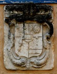 Castillon-la-Bataille (beery) Tags: france heraldry arms aquitaine gironde castillon castillonlabataille