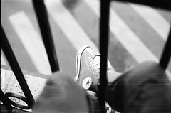 observing (Jun.summer) Tags: blackandwhite bw analog 35mm shoes converse analogue bwphotography filmphotography filmphotos