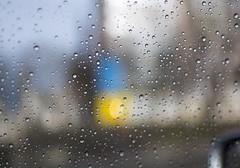 After the storm: Rain drops vs Ukrainian bokeh (Oleh Khavroniuk (Khavronyuk)) Tags: life street blue light stilllife storm blur window colors car rain yellow 35mm wow photography idea photo drops spring nikon foto dof bokeh candid postcard awesome creative patriotic ukraine rainy april raindrops forever photoart kyiv bokehlicious d7100 focuspocus 24ccfbt