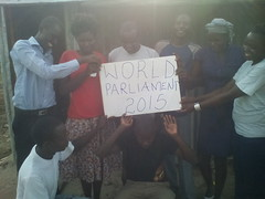"""WorldParliament 2015""  A greeting from Ahero, Kenya, and the members of the CHEAD club. • <a style=""font-size:0.8em;"" href=""http://www.flickr.com/photos/21108722@N05/16903090842/"" target=""_blank"">View on Flickr</a>"