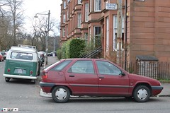 Citroen ZX+ Volkswagen Transporter T1 Glasgow 2015 (seifracing) Tags: rescue cars car scotland cops traffic britain glasgow taxi transport citroen scottish police vehicles research toyota british van spotting services recovery strathclyde scania brigade 2015 seifracing