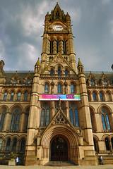 Manchester Town Hall (Muzammil (Moz)) Tags: city building landscape manchester unitedkingdom lancashire townhall canon24105l muzammilhussain incamerahdr mozhaps camerahdr canon5dmark3