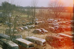 VW Graveyard - Byesville Ohio (Stephen Poullas) Tags: film vw