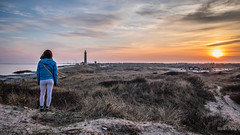 Sunset  in Skagen