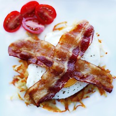 Bacon, egg and hashbrowns hits the spot.  (farmerjohnla) Tags: breakfast dinner recipe lunch la losangeles bacon foodies brunch bae baconandeggs farmerjohn lafoodies thebaconparty farmerjohnla