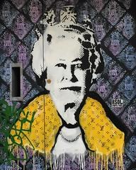 "(god save the queen) #portrait #soho #london #londonpop #UK   #streetart #streetstyle #streetphotography #worldcommuter #travel (""guerrilla"" strategy) Tags: uk travel portrait streetart london god soho streetphotography save queen   streetstyle londonpop instagram ifttt worldcommuter"