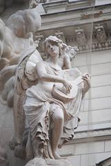 The Pestsaule (nicholeotter) Tags: vienna city music history angel austria europe cherub column marble carvings pestsaule