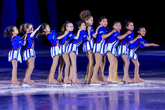 The Junior Girls Lineup (maxinneball) Tags: show girls ice youth figure rink