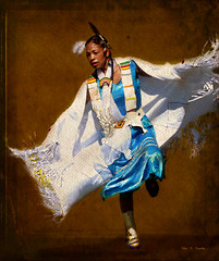 Native Dancer (Chris C. Crowley) Tags: festival dancing indian ceremony dancer nativeamerican indianwoman nativeamericanwoman